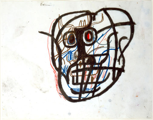 Jean-Michel-Basquiat-Skull
